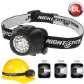 Nightstick Dual-Light Headlamp - LED - 3AAA