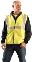 Classic Flame Resistant Single Stripe Solid Vest