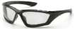 12 Pack Accurist Safety Glasses - Clear Lens Black Frame