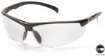 12 PACK - Forum Safety Glasses -  Clear Anti-Fog Lens Black Frame
