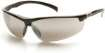 12 PACK - Forum Safety Glasses -  Silver Mirror Lens Black Frame