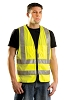 OccuLux ANSI Class 2 Surveyor's Vest (Solid) (Zipper Closure)