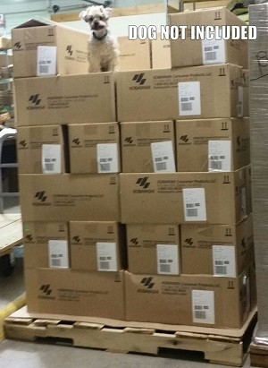 FULL PALLET OF 36 CASES Hothands Hand Warmers