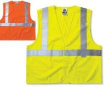 GLoWEAR ANSI Class 2 Standard Vest (Solid)  (Hook Loop Closure)