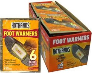 HotHands Foot Warm-Ups Display Box With 40 Pair