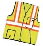 OccuLux ANSI Class 2 Safety Vest - Economy Two Tone (Solid) (Hook Loop Closure)