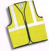 OccuLux ANSI Class 2 Safety Vest  - Economy (Solid) (Zipper Closure)