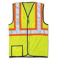 OccuLux ANSI Class 2 Two-Tone Cool Mesh Vest (Mesh) (Hook Loop Closure)