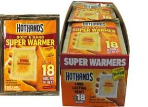 FULL CASE (240) HotHands Body & Hand SUPER Warmers 18 Hour Warmers