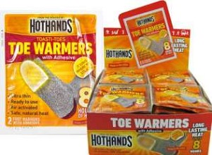 Hothands Toe Warmers Display Box With 40 Pair