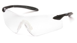 12 Pack - Intrepid II Clear Lens with Black/Gray Temples