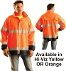 BLOW-OUT - Occulux ANSI Class 3 Hi-Viz Rain Jacket