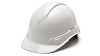 Ridgeline Cap Style Hard Hats - With 4 Point Ratchet Suspension