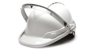 Aluminum Cap Style Hard Hat Adapter For Face Shield