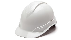 Ridgeline Cap Style Hard Hats - With 6 Point Ratchet Suspension