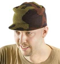 Hot Rods Camo Knit Hat