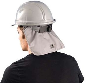 MiraCool Deluxe Hard Hat Pad with Neck Shade FR