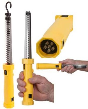 Nightstick 2-in-1 LED Work Light w/Spot Light - LED - Rechargeable