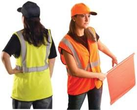 BLOW-OUT - OccuLux ANSI Class 2 Safety Vest - Economy (Mesh) (Hook Loop Closure)