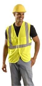 BLOW-OUT - OccuLux ANSI Class 2 Breakaway Vest - Economy (Mesh) (Hook Loop Closure)
