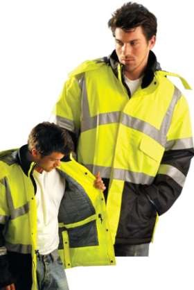 Occulux ANSI Class 3 High Visibility Cold Weather Jacket