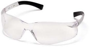 SINGLE PAIR Ztek Safety Glasses - Clear Lens