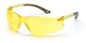 12 Pack Itek Safety Glasses - Amber Lens