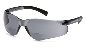 6 Pack Ztek Reader Safety Glasses - Gray 1.5 Lens