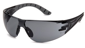 12 Pack - Endeavor Plus Gray Anti-Fog Lens Black and Gray Temples